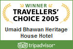 2005 Traveller's Choice Award for Jaipur Hotels